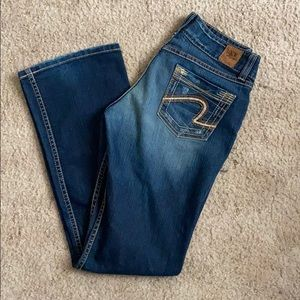 Buckle Boot Cut Jeans